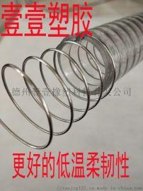 平滑钢丝软管 304不锈钢软管 食品级输送钢丝软管