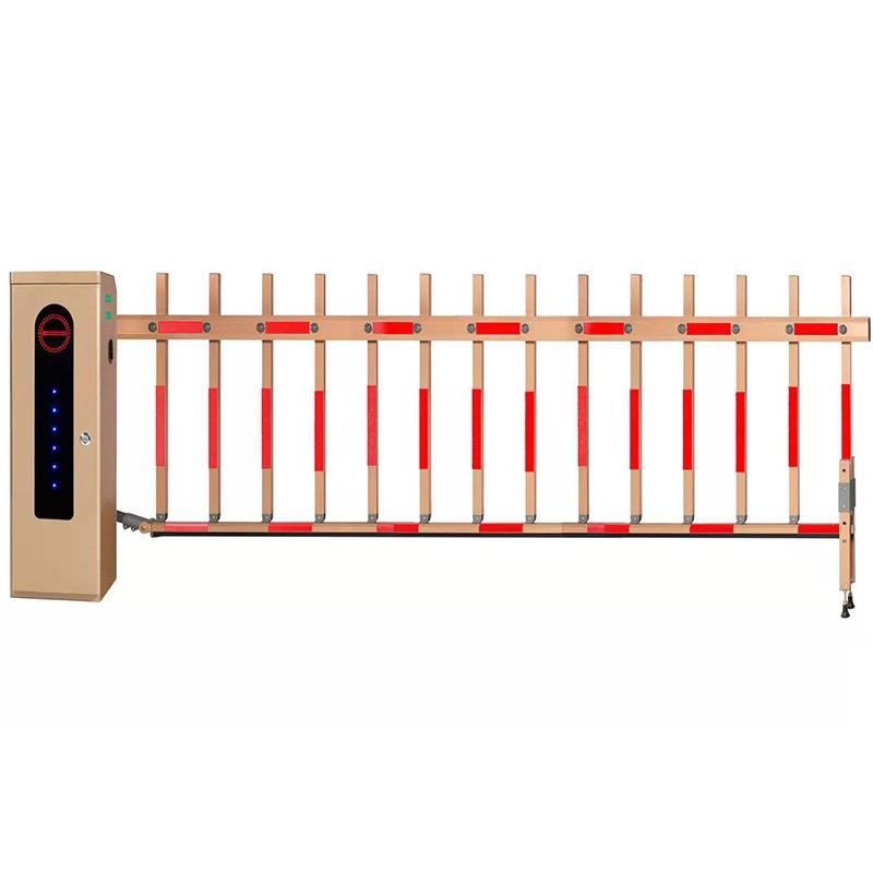 停車場管理車牌識別系統 自動直杆柵欄道閘