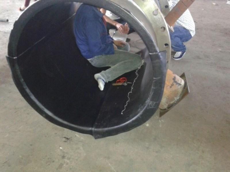 耐磨襯膠管,耐磨襯膠管道