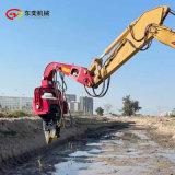 打鋼板樁液壓打樁機 挖機配置液壓打樁機
