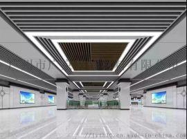 隧道墙面装饰搪瓷钢板效果图