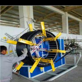 收线机 收卷机 复绕机大截面自动成圈机