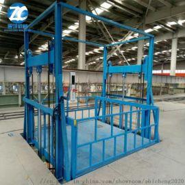 升降平台 液压货梯 导轨式升降机