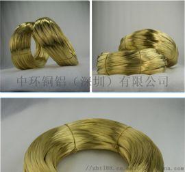 H65黄铜线 半硬黄铜丝 0.8mm软态黄铜线