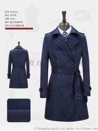 上海红万服饰 上裝大衣定制 工装 服装 职业装定制