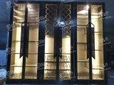 北京设计不锈钢酒柜灯光灯带常温酒柜酒庄不锈钢酒柜