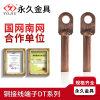 铜铝鼻子DTL-50平方铜铝过渡接线端子 A级国标