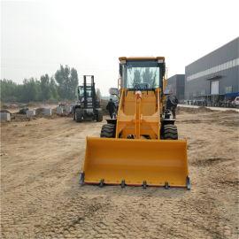 小型四驱液压装载机 华科 轮胎式建筑工程农用装载机