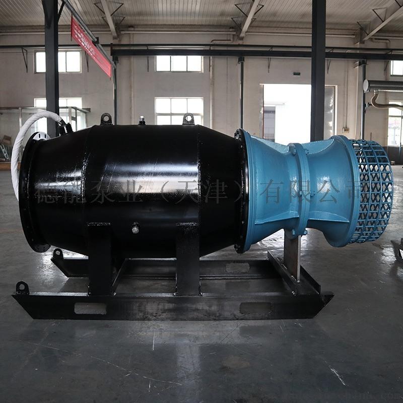 不锈钢潜水轴流泵德能