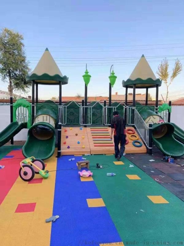 幼儿园儿童实木攀爬架木制小屋定制