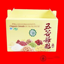 郑州彩色瓦楞纸箱定制 干果零食坚果礼品盒