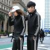 運動套裝學生運動服兩件套校服跑步運動服裝休閒情侶