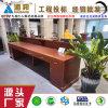 接待台B 绿色环保油漆天然胡桃实木贴皮 广东中山