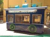 卡通移动售货车-古典广场零售车加工定制