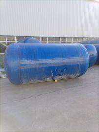 养殖场整体式化粪池规格玻璃钢压力罐