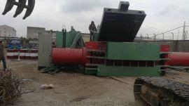 全自动废金属打包机 Y81-1000金属打块机
