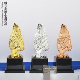 赛鸽比赛颁奖礼品 定做奖杯 来图打样 厂家直销