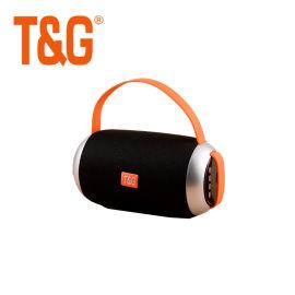 手提布藝小巧藍牙無線戶外音箱雙喇叭高音質音響