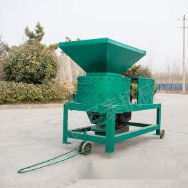 小型青饲料粉碎机 猪草新型打浆机 饲用牧草打浆机
