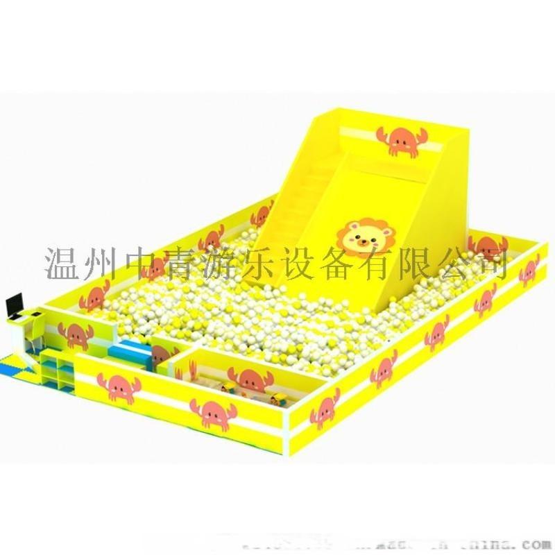 青島室內樂園百萬球池廠家 定製百萬海洋球池滑梯