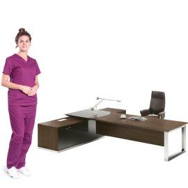 SKZ432 办公桌 实木办公桌 电脑桌 书桌