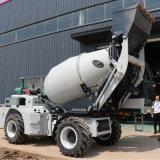 厂家促销小型混凝土搅拌车自上料混凝土搅拌车山东岳工
