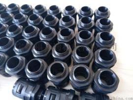 PA塑料波纹管接头 塑料波纹管快速接头 塑料波纹管接头厂家