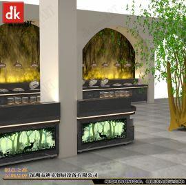 欧洲酒店餐厅自助餐台设计制作厂家