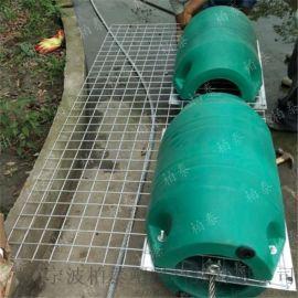 配套登岸舷桥的塑料浮筒拦污浮筒