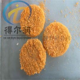 爆香鸡米花裹粉机 鸡米花上粉油炸线 鸡米花油炸机
