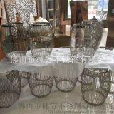 傢俱擺設不鏽鋼製品 不鏽鋼茶几 不鏽鋼餐桌等製品