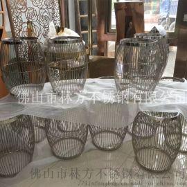家具摆设不锈钢制品 不锈钢茶几 不锈钢餐桌等制品