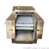 全自動凍肉切塊機,雞肉切塊機,大型切塊機