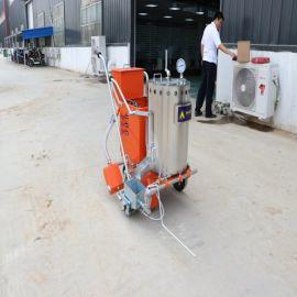 手推式冷喷划线机 小型马路公路标线划线机