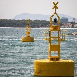 停靠码头警示浮标 近海指示塑料航标