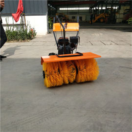 生产厂家 全齿轮手推式扫雪机 手扶式道路扫雪机