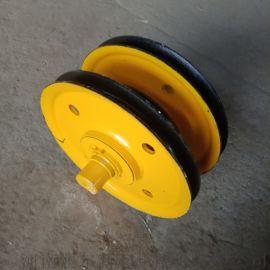 定做多型号滑轮组 铸钢/轧制滑轮 矿井提升滑轮组