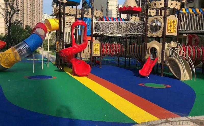 深圳減震橡膠墊,小區EPDM地膠,幼兒園塑膠廠家