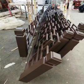 金属竹管护栏改造特点 防火铝合金护栏有哪些造型图案