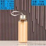 玻璃豆浆瓶可定制logo玻璃果汁瓶