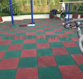 河源游乐场幼儿园橡胶地垫户外公园防摔安全地垫