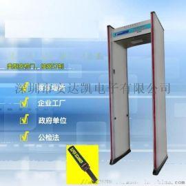 高靈敏度紅外測溫門 溫度和金屬探測 紅外測溫門