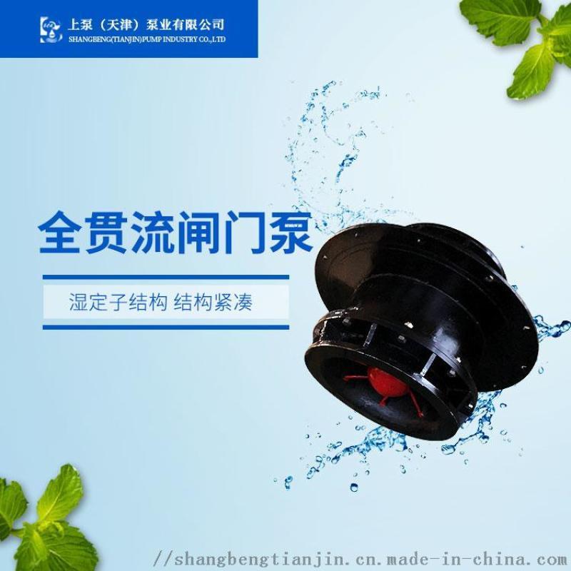 海南潛水閘門泵_600QGWZ-55KW閘門泵報價
