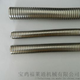 陕西厂家销售穿线双扣不锈钢金属软管规格齐全