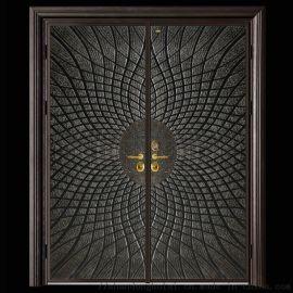 质优价廉 临朐铸铝门庭院铝艺大门