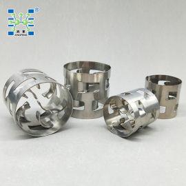 厂家销售不锈钢鲍尔环填料76mm 化工塔散堆填料