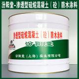 渗透型硅烷混凝土(砼)防水涂料、生产销售、涂膜坚韧