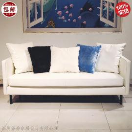 北欧设计师 双人 多人沙发 The sofa