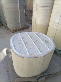 模压玻璃钢化粪池地埋式污水沉淀化粪池
