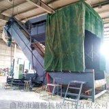 通暢集裝箱卸灰機 環保無塵碼頭粉料拆箱機 卸車機